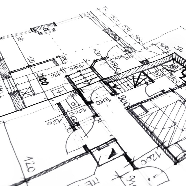 Le plan de l'habitation lors de la certification