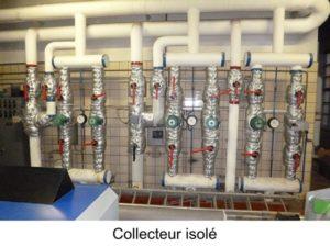 otptimisation thermique des installations collecteur isolé