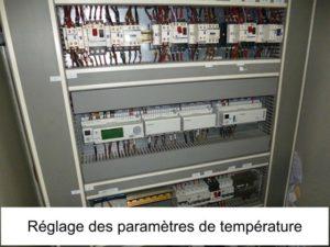 Réglage des paramètres de température dans l'optimisation thermique des installations