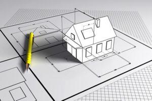 le plan en 3D de l'habitation par le responsable PEB en Wallonie