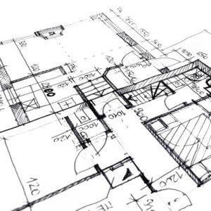 Le plan de l'habitation afin d'établir la déclaration PEB initale